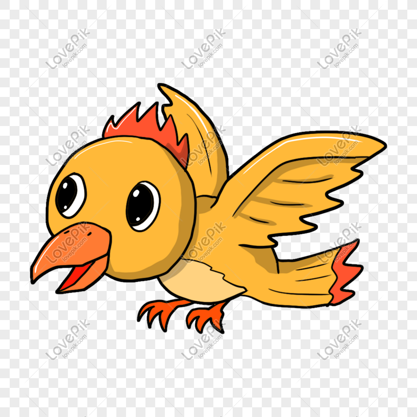 Cartoon Yellow Cute Bird Png Image Picture Free Download 611525672 Lovepik Com