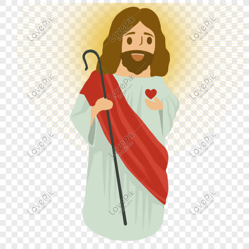 cartoon jesus hand drawn illustration png image picture free download 611528930 lovepik com cartoon jesus hand drawn illustration