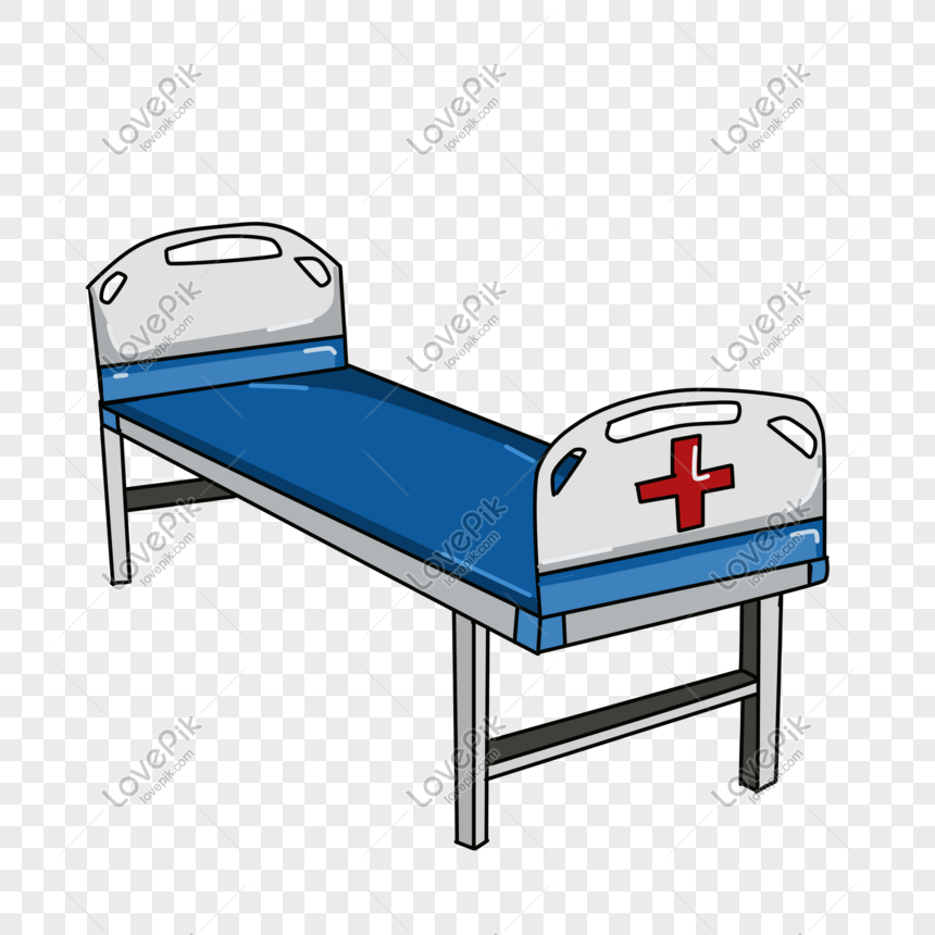 Cartoon Blue Hospital Bed Png Image_picture Free Download ...