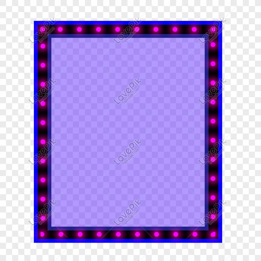 ungu lampu neon kreatif teknologi pencahayaan rasa persegi panj png grafik gambar unduh gratis lovepik ungu lampu neon kreatif teknologi