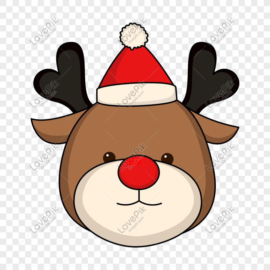 Dibujos Animados De Navidad Reno Avatar Imagen Descargarprf