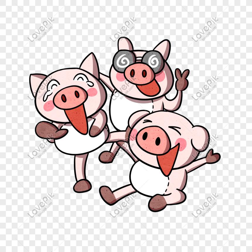 78+ Gambar Babi Ketawa Paling Keren