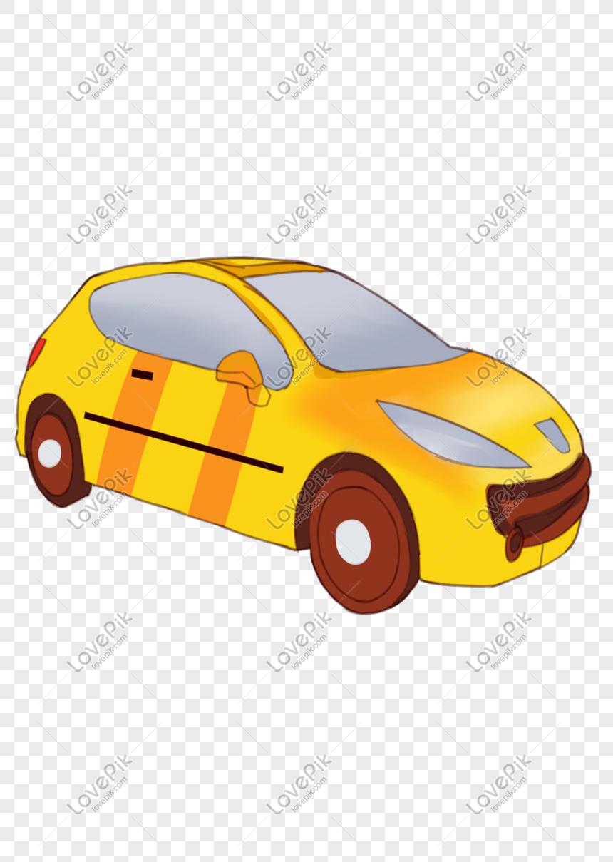 Kartun Kendaraan Mobil Digambar Tangan Png Grafik Gambar Unduh Gratis Lovepik
