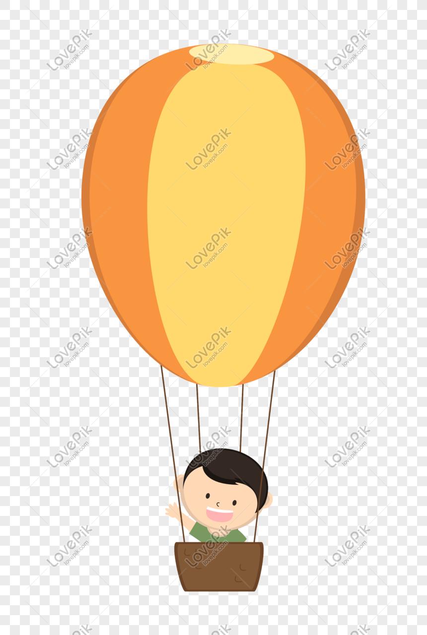 phim hoạt hình khinh khí cầu màu vàng