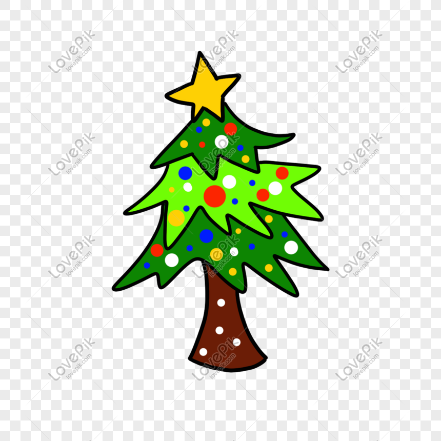 Photo De Sapin De Noël étoiles Colorées Réveillon De Noël