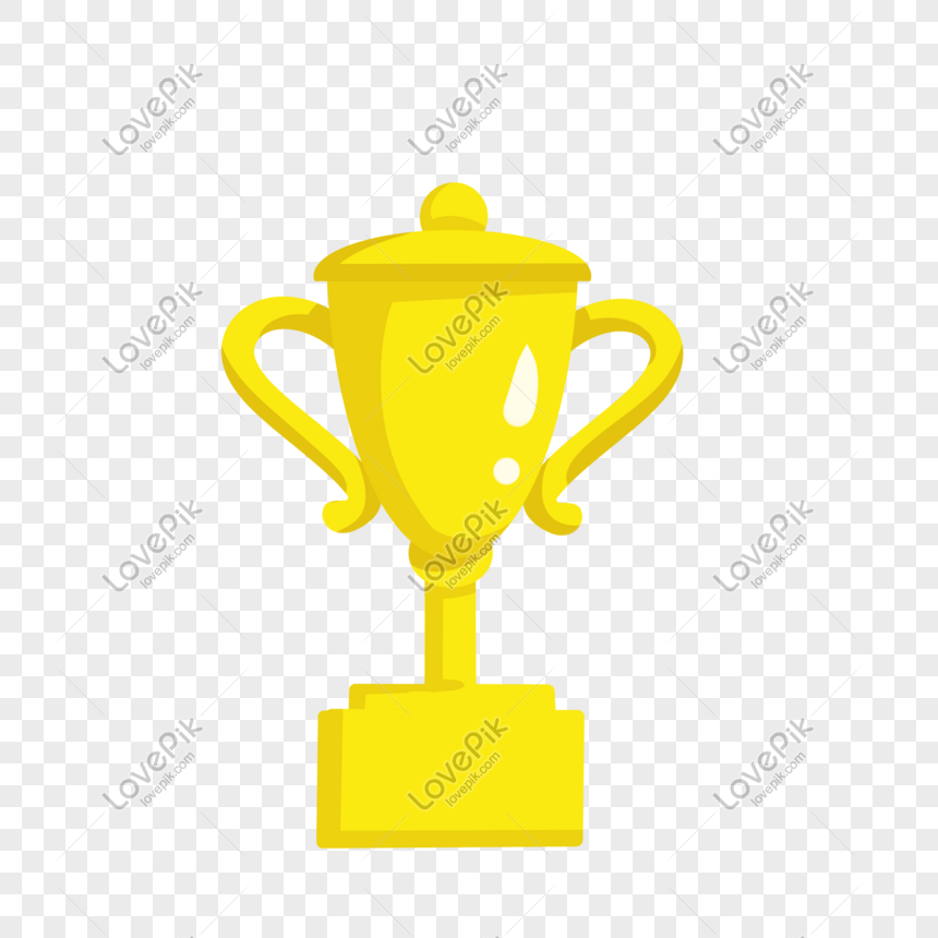 golden cup trophy illustration png