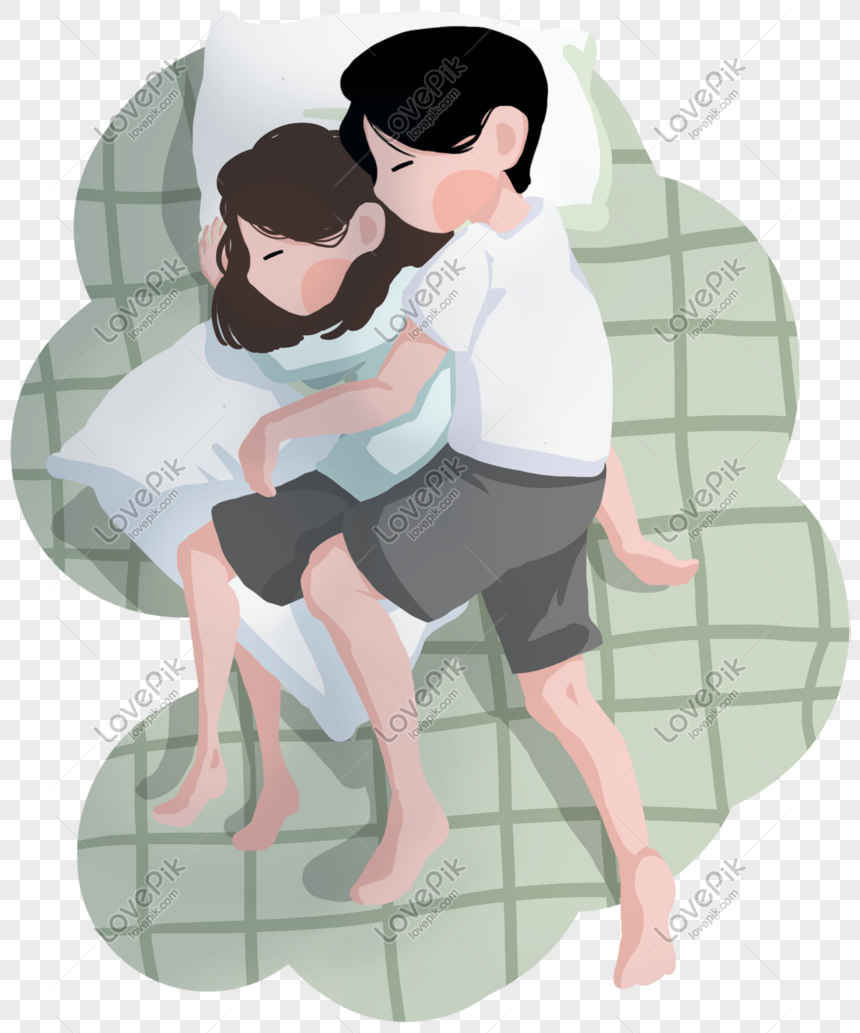 Couple Sleeping Warm Romantic Map Png Image Picture Free Download 611628615 Lovepik Com