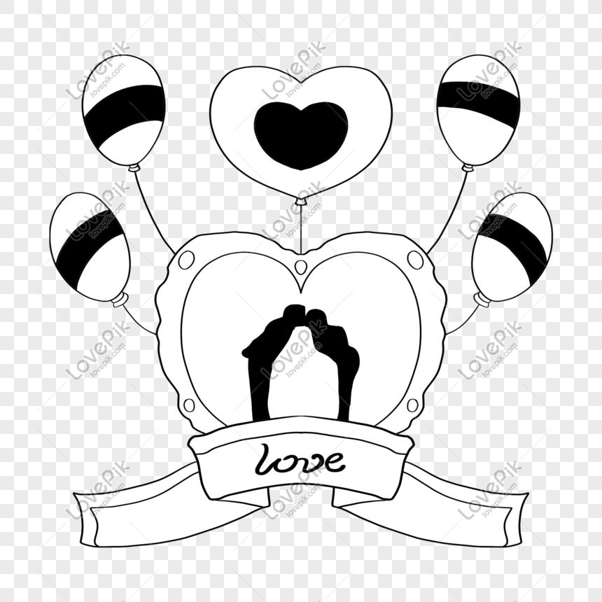 Ilustrasi Jantung Belon Cinta Yang Ditarik Tangan Gambar Unduh Gratis Imej 611629667 Format Psd My Lovepik Com