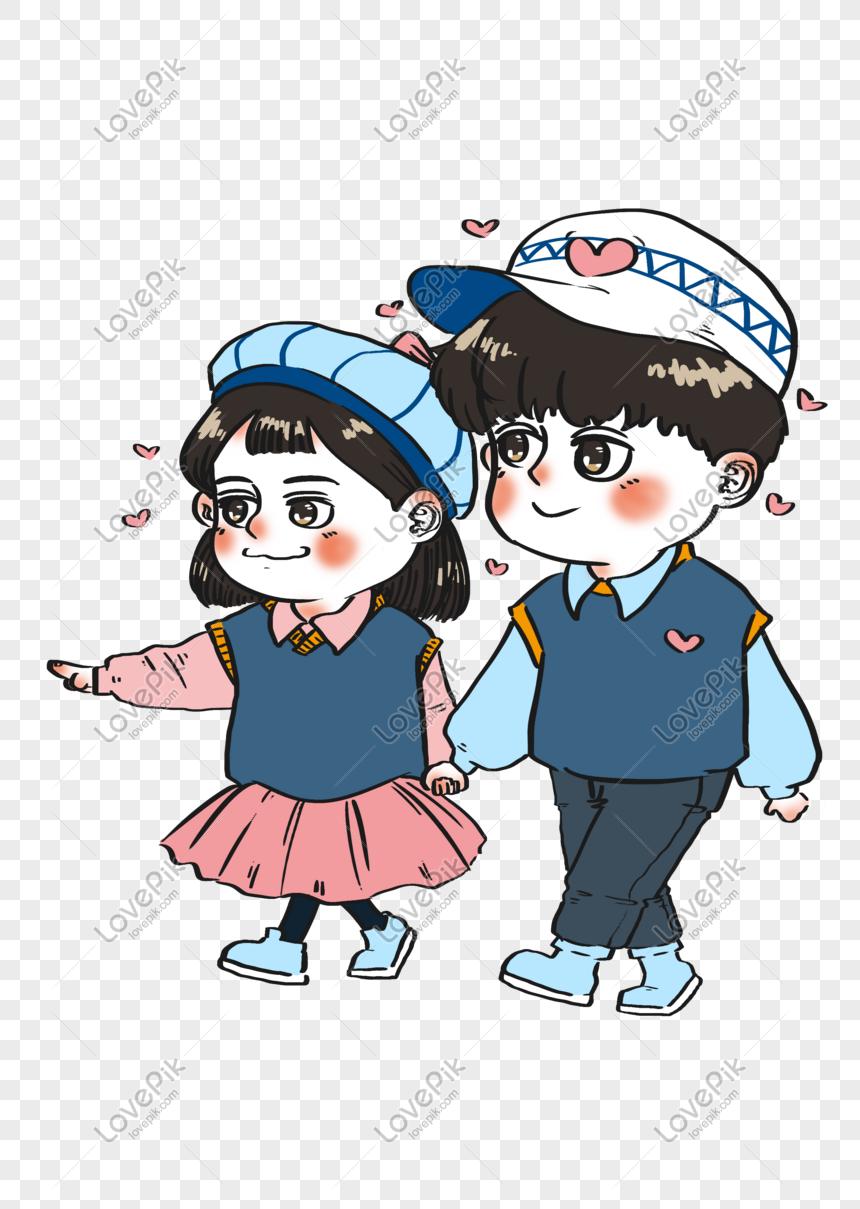 Hari Valentine Sweet Love Cute Couple Romantic Festival