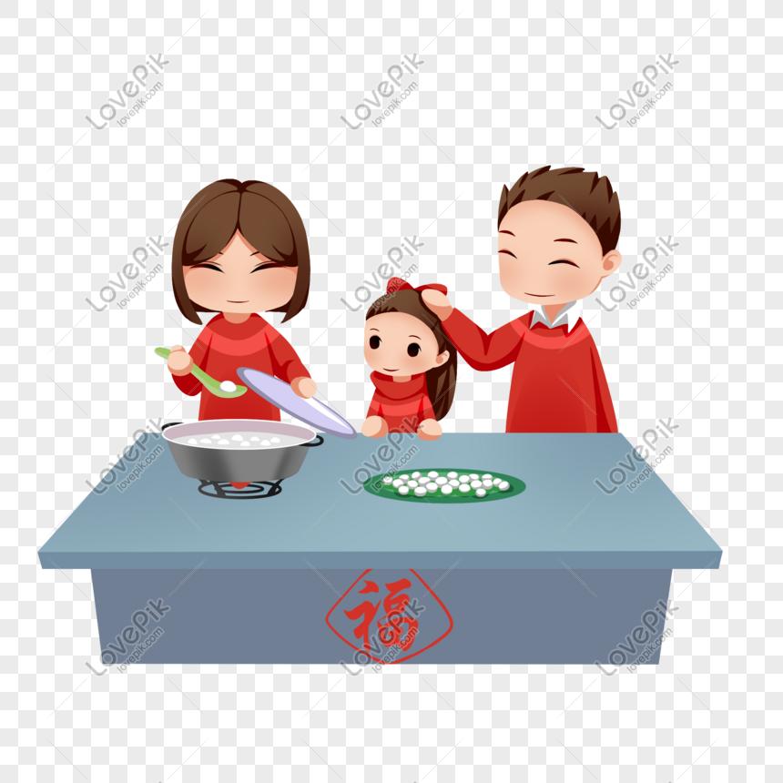Festival Lantern Cute Cartoon Doll Keluarga Ibu Dan Ayah Membuat Gambar Unduh Gratis Imej 611647349 Format Psd My Lovepik Com