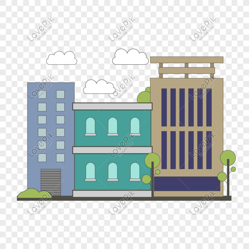View Office Building Cartoon Png Gif