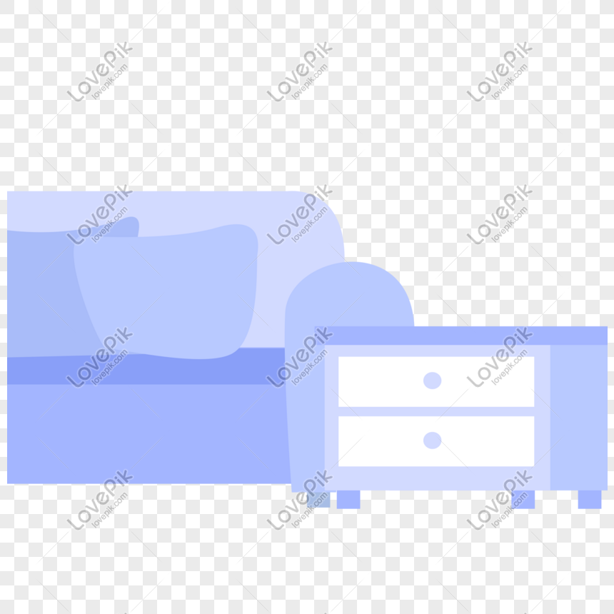 Purple Blue Office Sofa Cabinet Free Illustration Png Image Picture