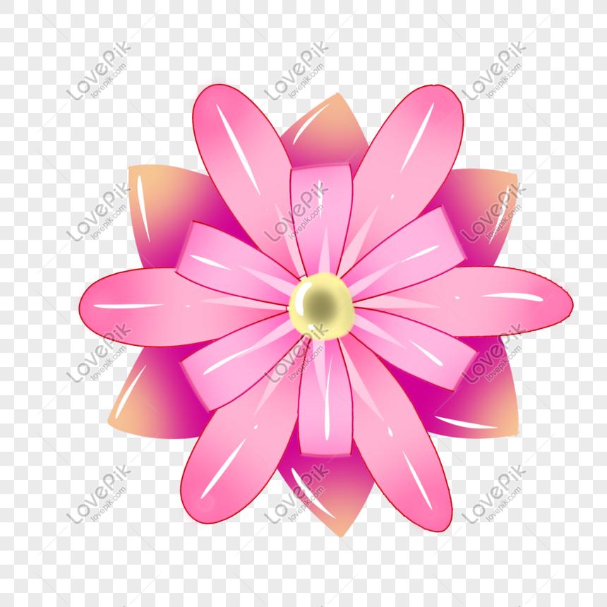 Rose Purple Flower Pattern Png