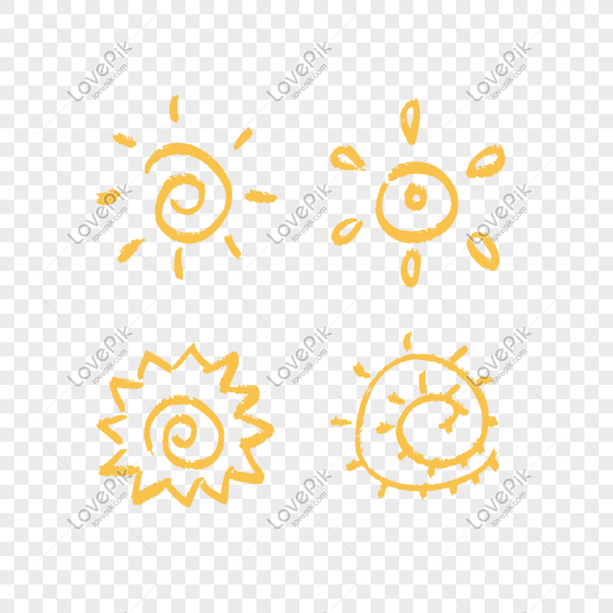Cartoon children sun icon png image_picture free download