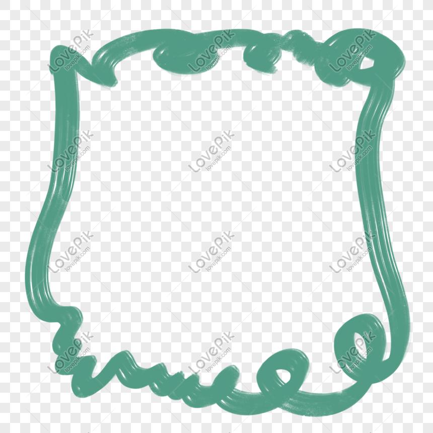 rangka tangan yang dicat garis mudah bingkai hijau gesper per gambar unduh gratis imej 611650512 format psd my lovepik com gambar fotografi latar belakang templat powerpoint my lovepik com muat turun percuma lovepik