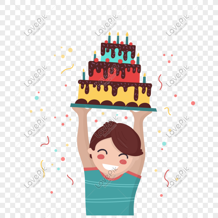 Magnificent Happy Little Boy Holding Birthday Cake Image Picture Free Funny Birthday Cards Online Kookostrdamsfinfo