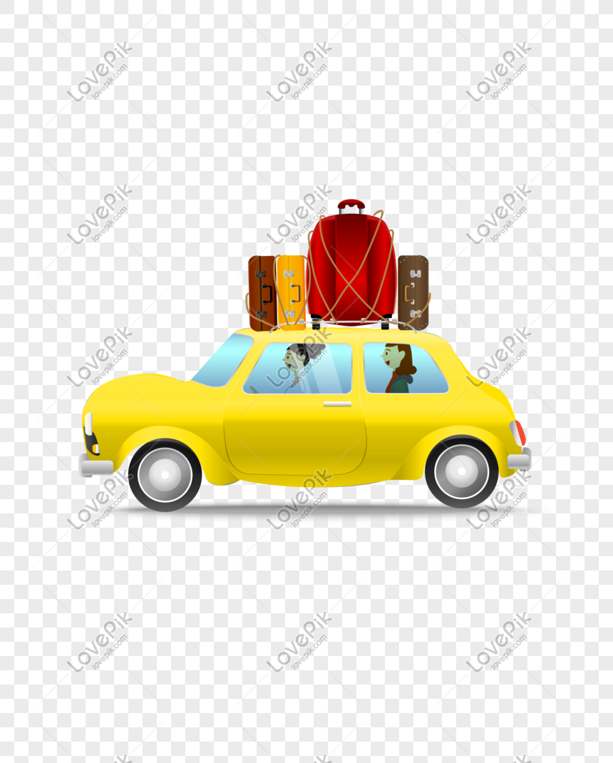vector hand drawn cartoon car png
