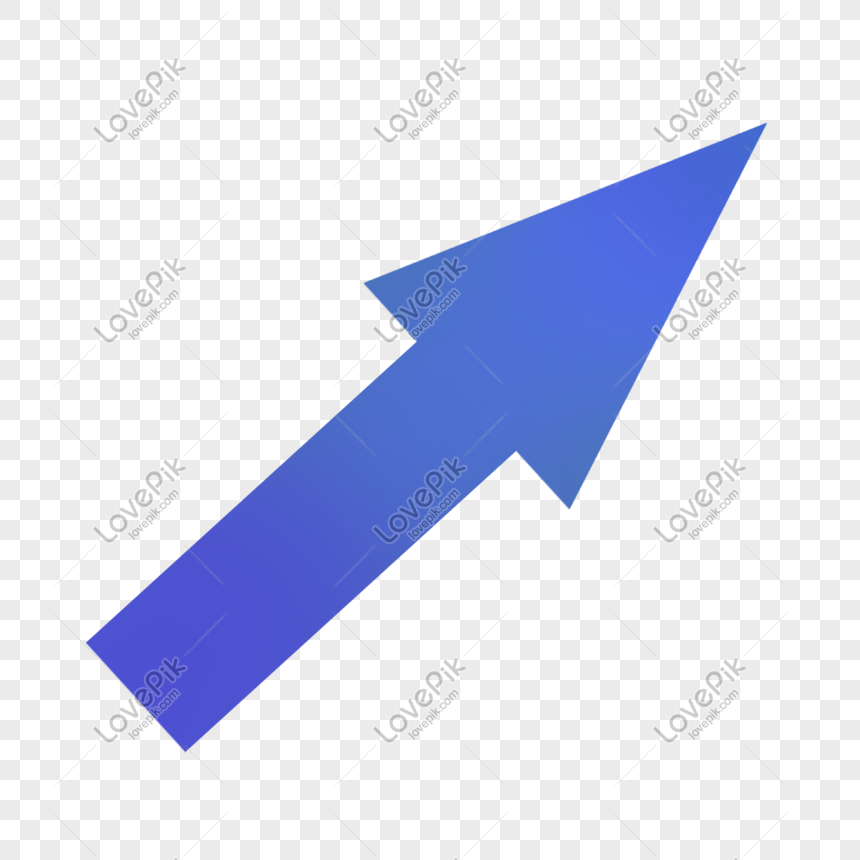 Dark Blue Upper Right Direction Straight Arrow Png Image Picture Free Download 611700776 Lovepik Com