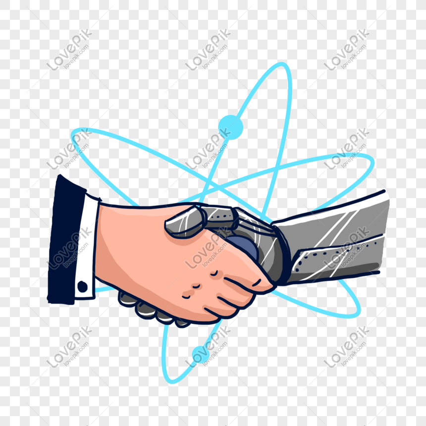 Hand Painted Robot Handshake Png Free Material Png Image Picture Free Download 611708230 Lovepik Com Robotic arm holding planet earth illustration, technology robotic arm robotics hand, tech robot transparent background png clipart. hand painted robot handshake png free