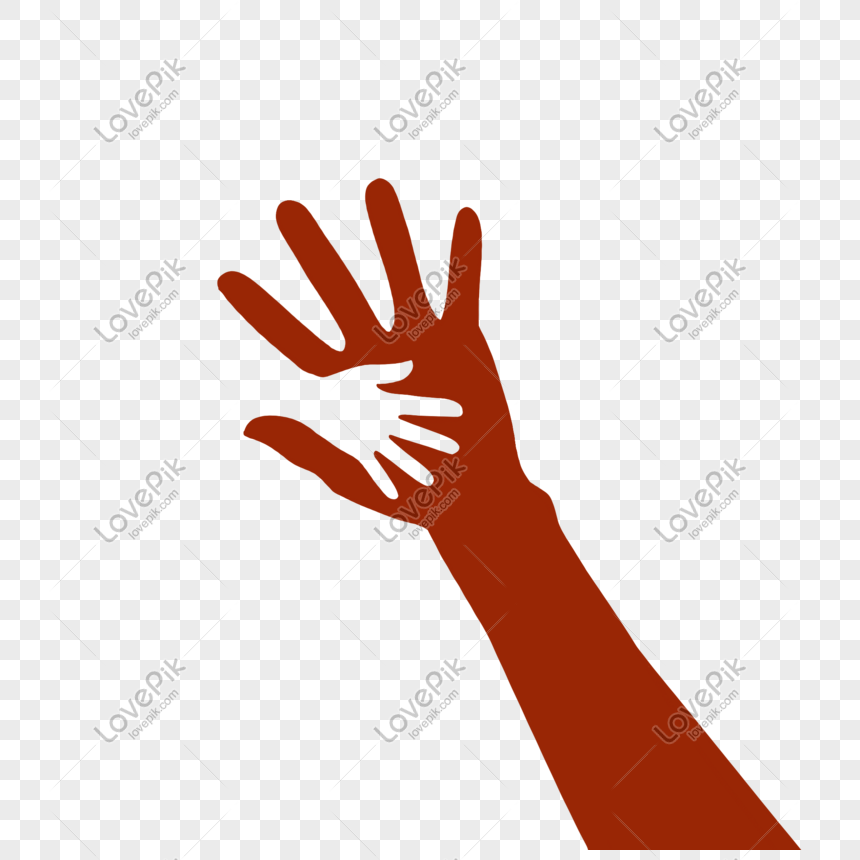 Hand Drawn Cartoon Big Hand Holding Small Hand Png Image Picture Free Download 611703536 Lovepik Com