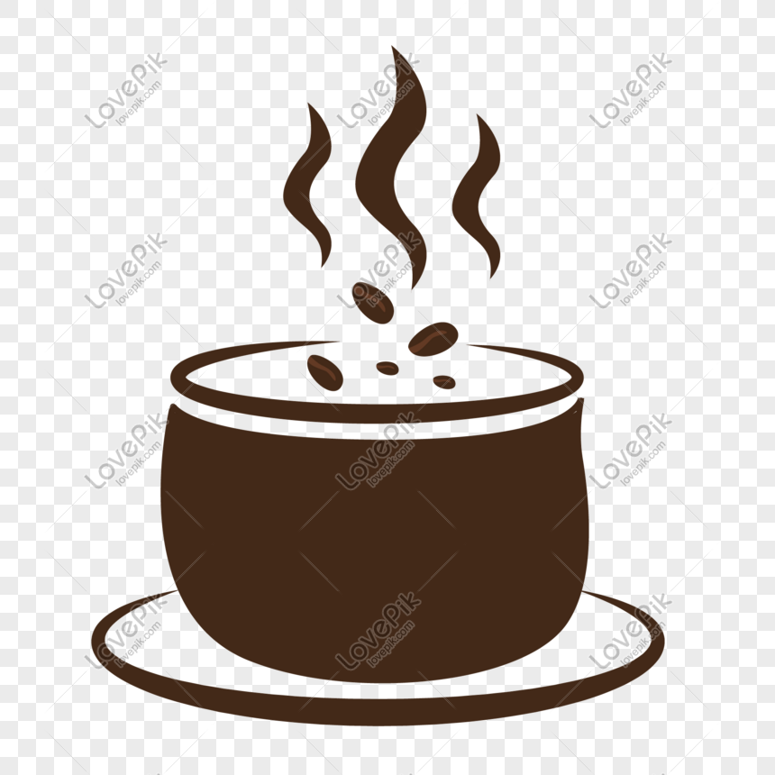 Hand Drawn Cartoon Vector Brown Coffee Cup Png Image Picture Free Download 611744198 Lovepik Com