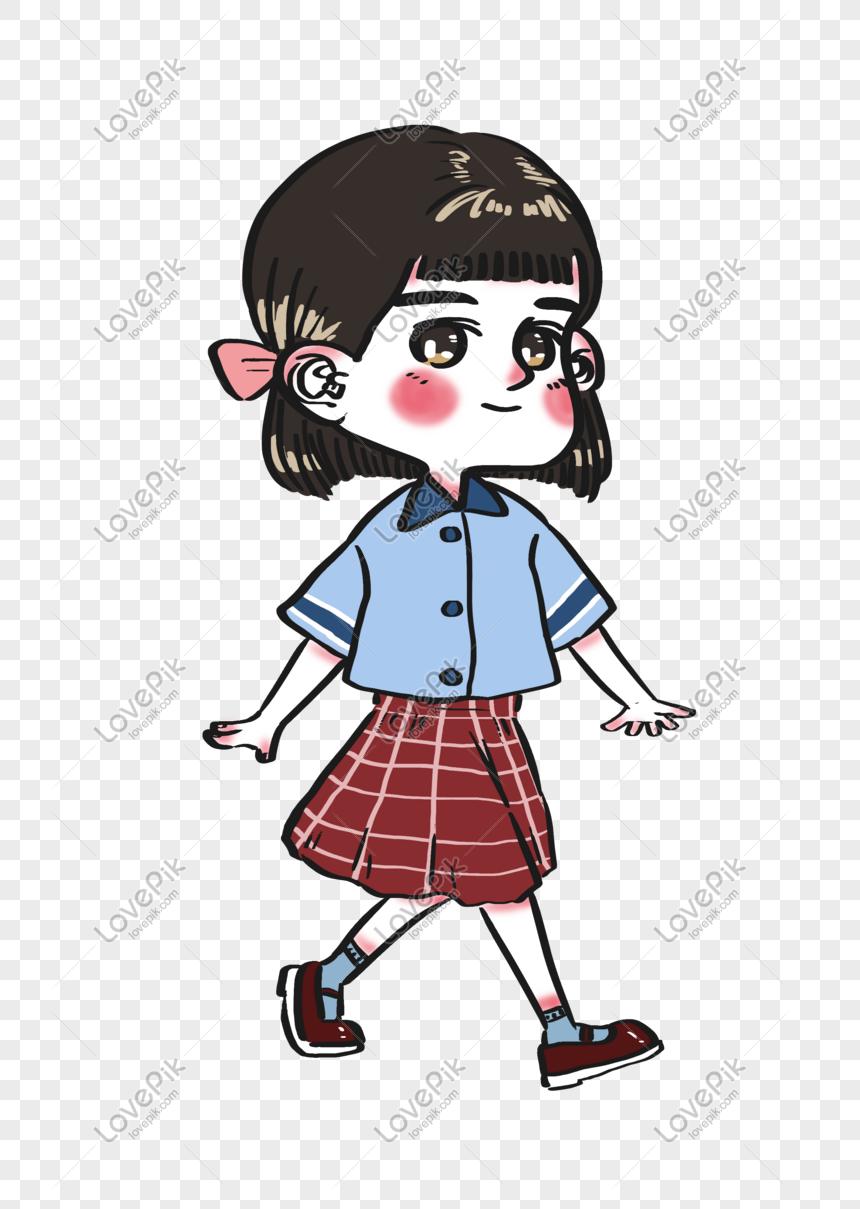 Watak Kartun Gadis Lucu Dan Cantik Untuk Hari Kanak Kanak