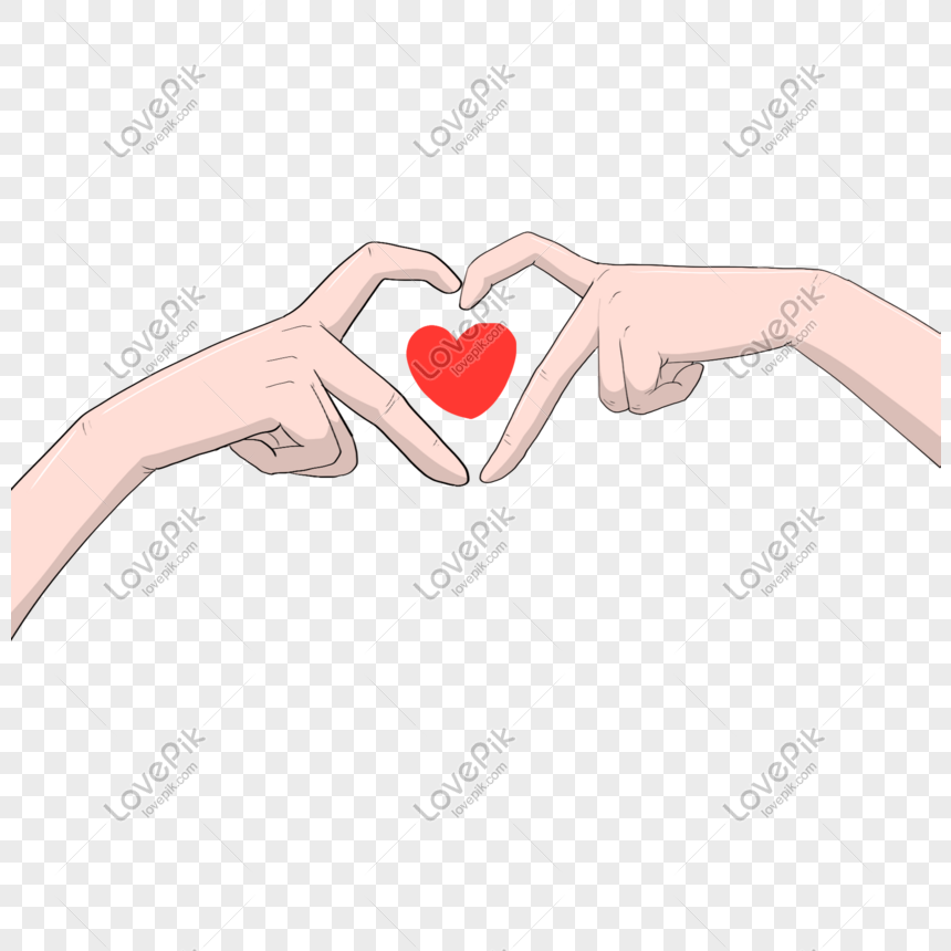 Hand Drawn Love Heart Gesture Illustration Png Image Picture Free Download 611711084 Lovepik Com Painting art love drawing illustration, hand drawn silhouette png. hand drawn love heart gesture