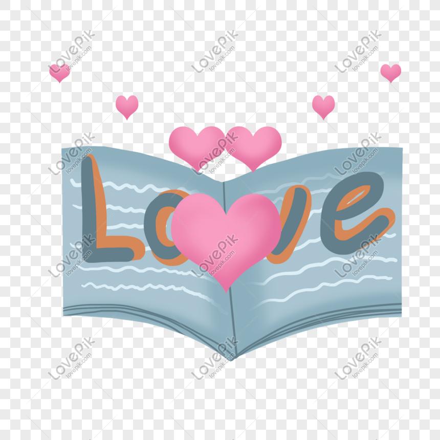Ilustrasi Surat Cinta Hari Valentine Digambar Tangan Gambar