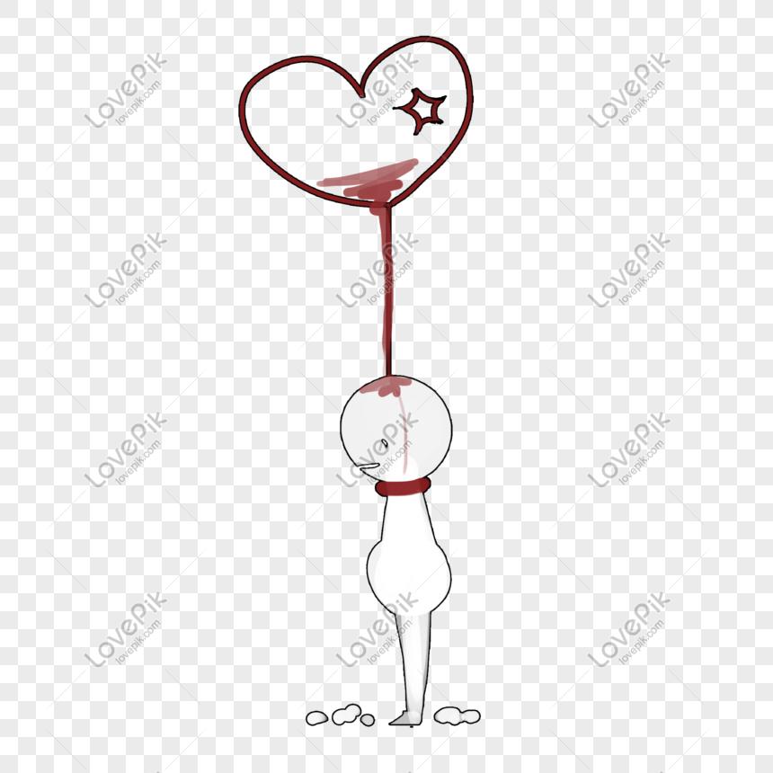 Kalp Seklinde Dekoratif Boyama Ile Noktali Ask Resim Grafik