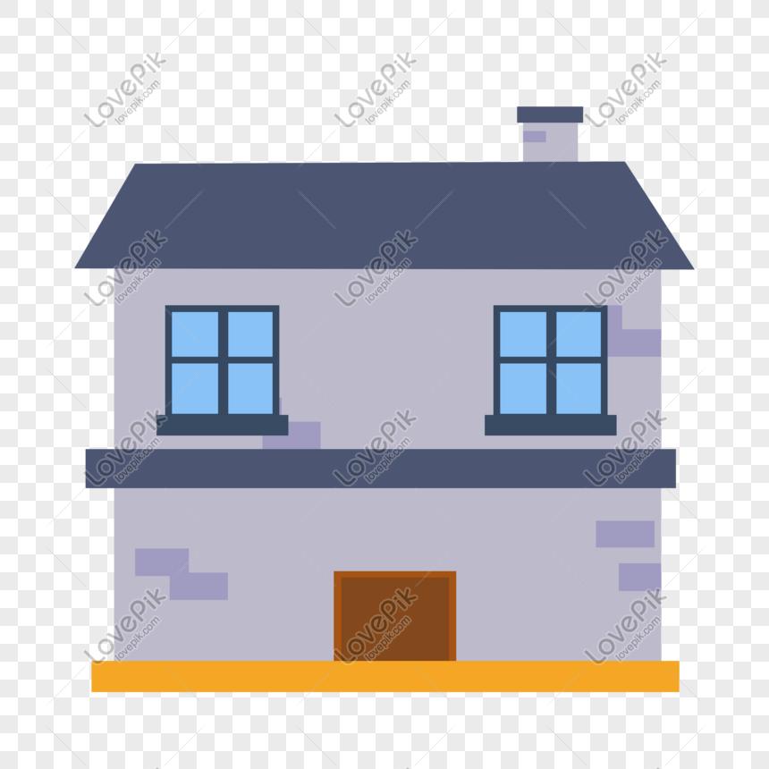 48+ Gambar Animasi Rumah 2 Lantai Gratis