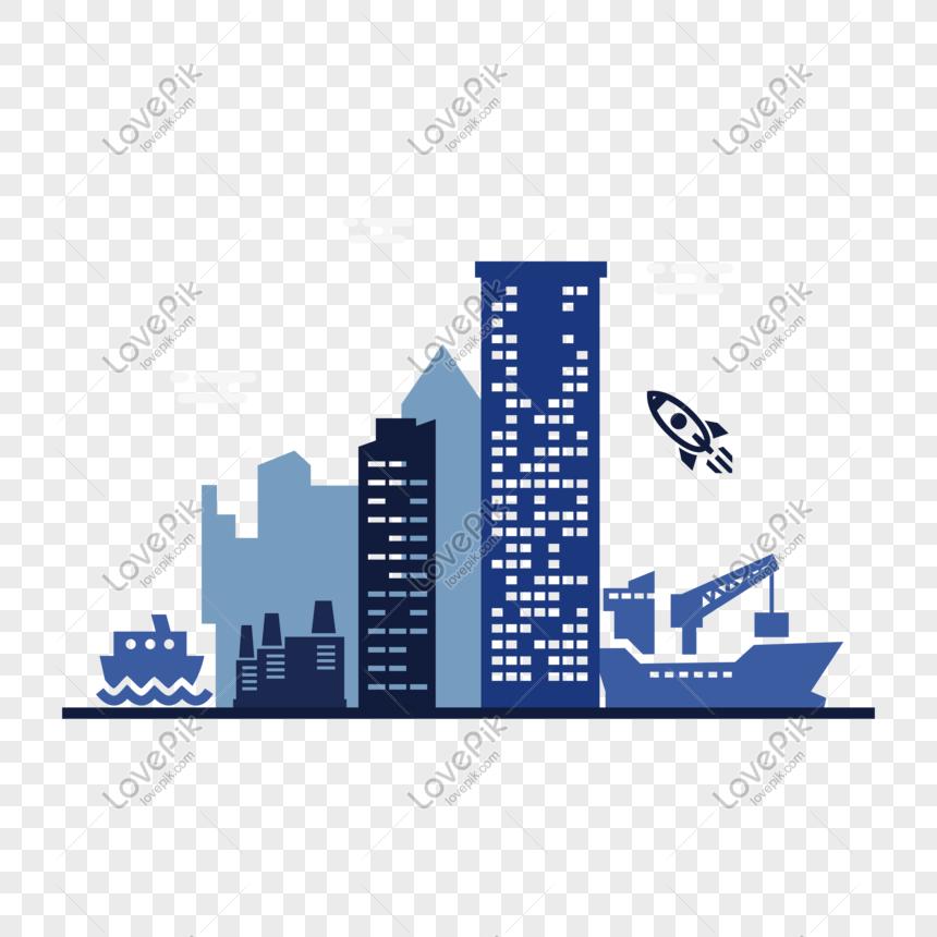 vektor siluet bangunan kartun gambar tangan png grafik gambar unduh gratis lovepik vektor siluet bangunan kartun gambar