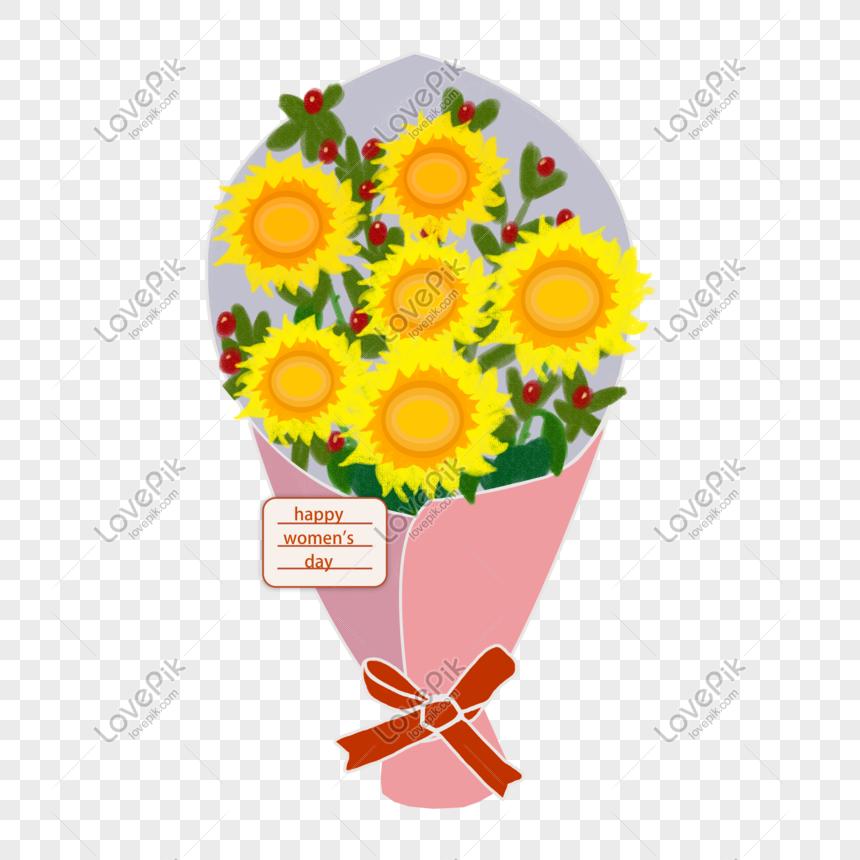 Kartu Ucapan Bunga Buket 38 Hari Wanita Png Png Grafik Gambar Unduh Gratis Lovepik