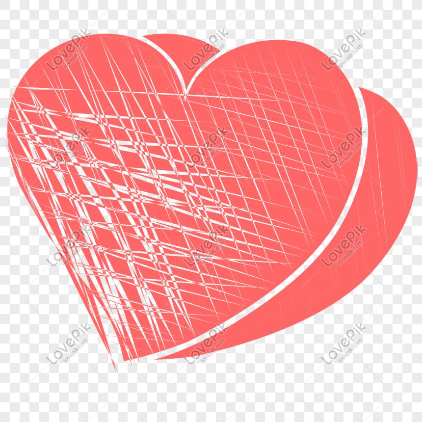 Hari Valentine Cinta Dekorasi Vektor Transparan Png Gambar