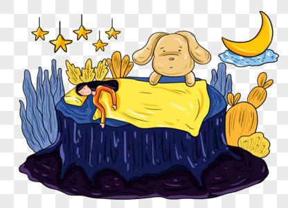 tangan ditarik bocah tidur santai PNG grafik gambar unduh ...