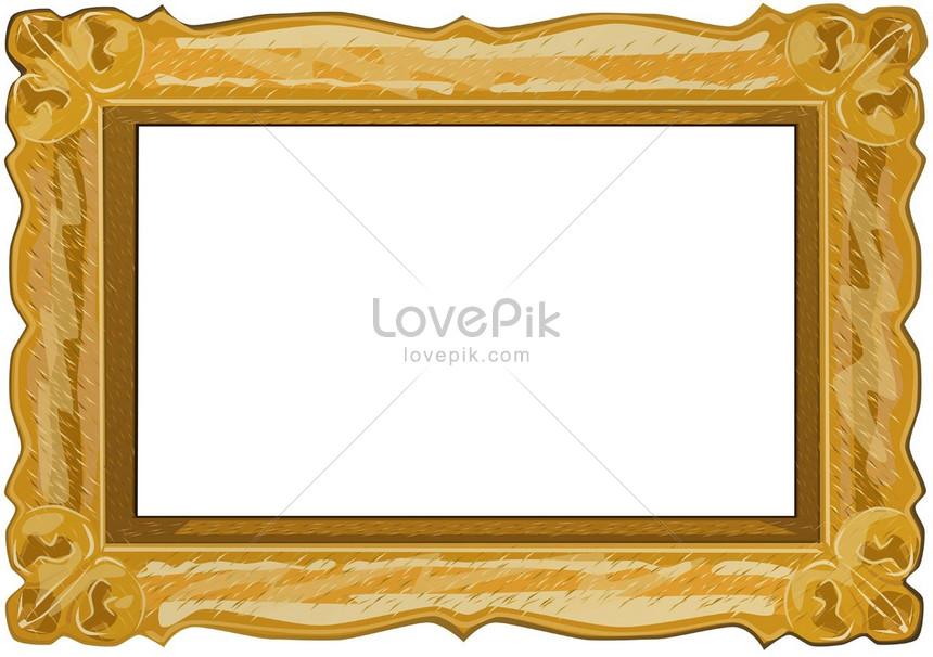 золотая деревянная рамка изображениефото номер 160289jpg формат