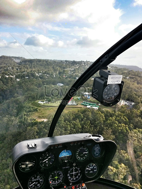 The helicopters cockpit photo image_picture free download