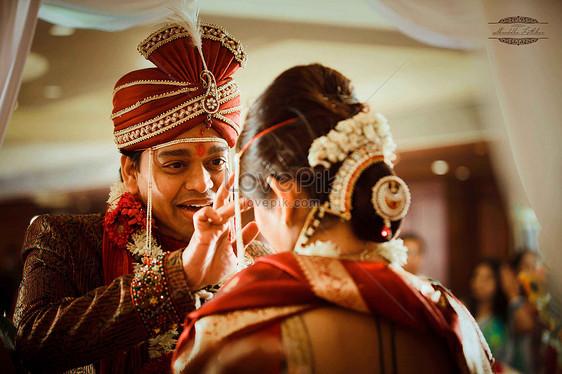 Tradycyjne Indyjskie Wesele Darmowe Obraz Obrazek Numer