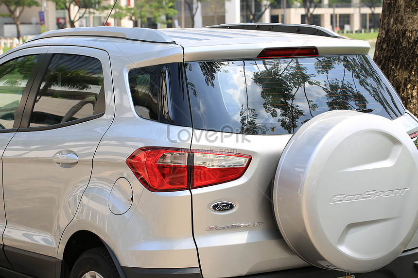 Ford Ecosport Silver Photo Image Picture Free Download