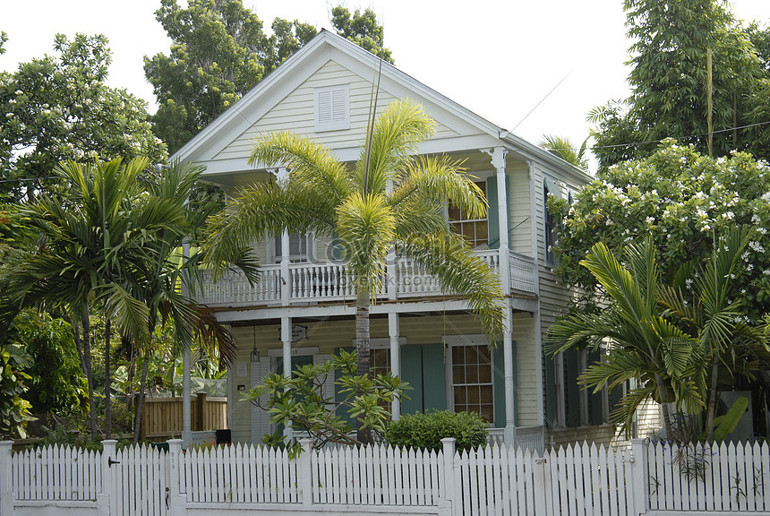 Typical house in key west florida photo image_picture free