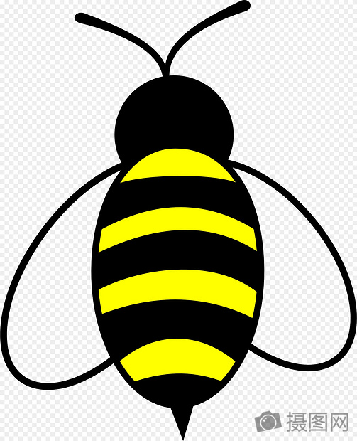 A bee that flutter its wings graphics image_picture free download