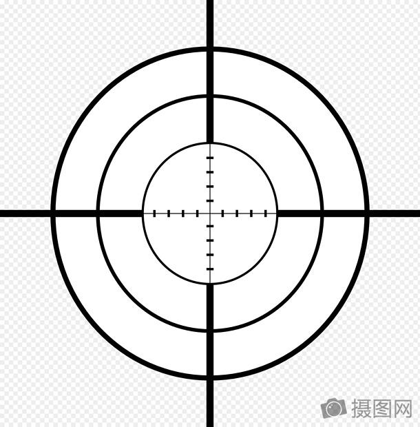 sniper cross rifle crosslines cross line gun target free