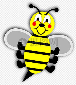 Lebah Kartun Gambar Unduh Gratisimej 400851611format Mylovepikcom