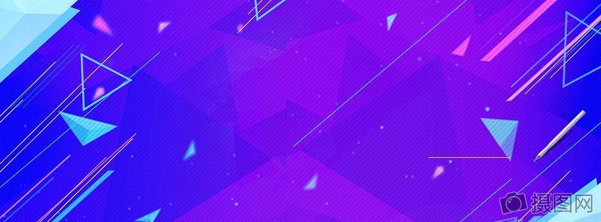 colorful fashion poster design background geometric cube