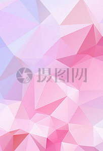 Pink And Red Yellow Geometric Gradient Low Poly Background Photo