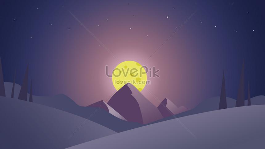 thung lũng bằng tay ánh trăng