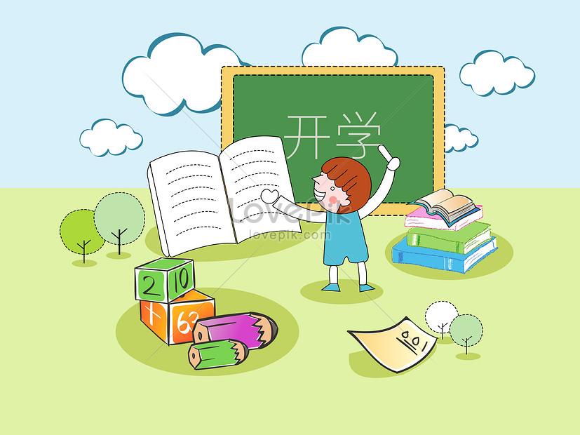 Lovepik صورة Psd 400060108 Id الرسومات بحث صور الكتابة السبورة الاطفال التوضيح