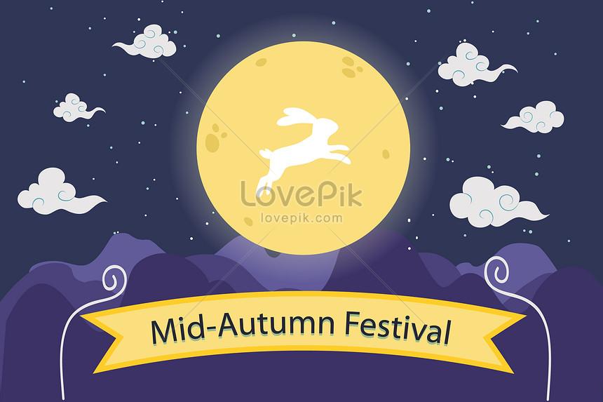 latar belakang festival pertengahan musim gugur