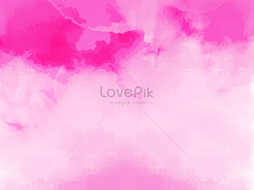 pink hand painted watercolor romantic background