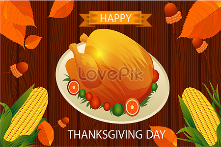 Thanksgiving Dinner Background Creative Images Holiday Pictures