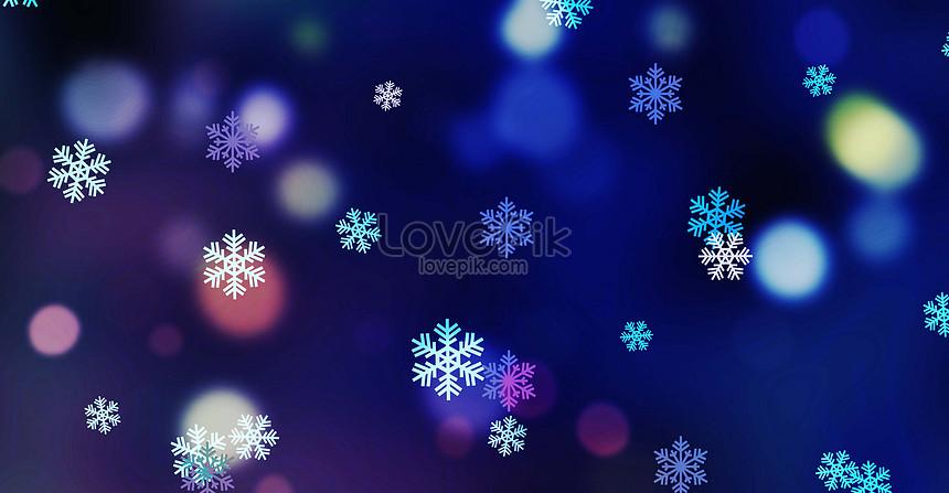 Nền Màu Xanh Da Trời Giáng Sinh Tuyết Hình ảnh định Dạng